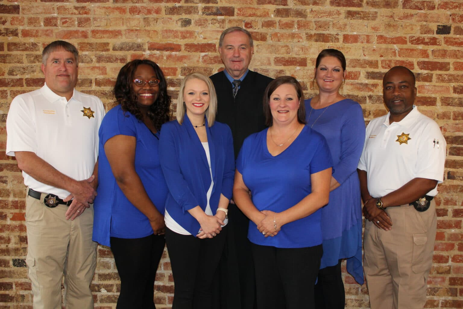 Leake County Justice Court and staff